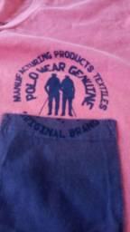Vendo camiseta e bermuda