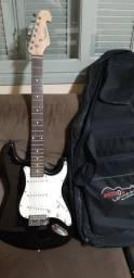 Guitarra, pedais e pedalboard
