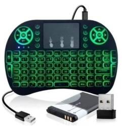 Mini Teclado Controle Wireless Para Smart Tv - Tv Box - Pc