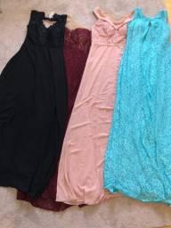 Lote vestidos de festa novos