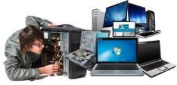 Título do anúncio: Assistência técnica e formatação em computadores, notebooks, celulares e tablets.
