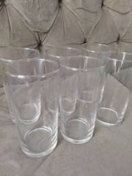 Kit de 6 copos vidro