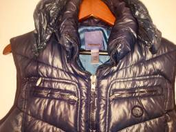 Colete jaqueta diesel - forro pena - osklen - zara - armani - sergio k