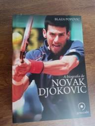 Título do anúncio: Bibliografia de NOVAK DJOKOVIC