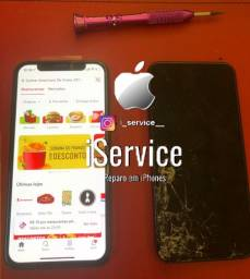 Troca de tela display iPhone X delivery