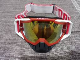 Óculos de motocross novo original