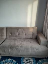 Sofá em L de 1,7m x 0,9m x 2,23m