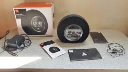JBL Horizon Rádio-relógio Bluetooth com carregamento USB e luz ambiente