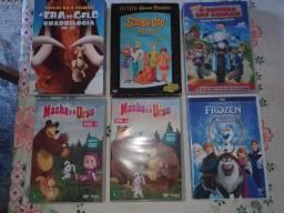 Título do anúncio: Dvd  + DVDs infantil, hoje 150,00