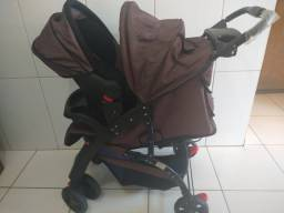 Carrinho de bebe prime baby +bebe conforto