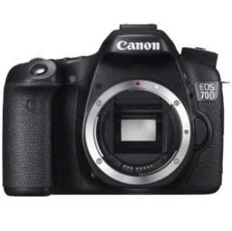 Canon 70D  apenas 29.700 clicks