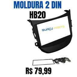 Moldura 2 Din HB20