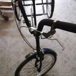 Triciclo adulto semi novo, revisado. Lindão.