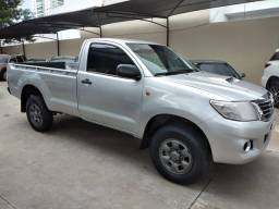 Hilux Cabine Simples 3.0, 4x4, ano 2013/2014