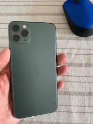 Loja Física! IPhone 11 Pro de 256gb Verde / Garantia Jul/21 / Bateria 100%