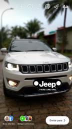 Jeep Compass Limited branco pérola teto preto