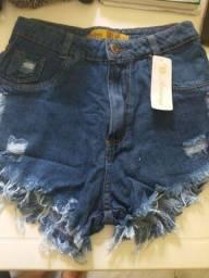 Título do anúncio: Short jeans novo tamanho 42