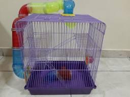 Vendo Gaiola para Hamster ou Gerbil