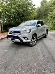 Toyota Hilux 2.8 4x4 Diesel IPVA 2021 PAGO BAIXA KM