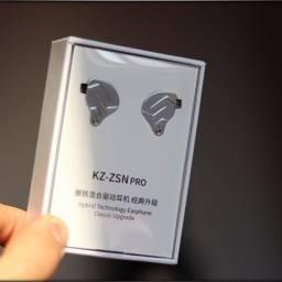 Fone Kz ZSN Pro Novo Lacrado, Sem Microfone