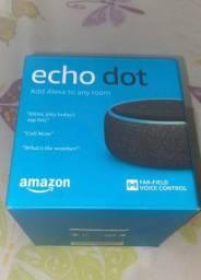 Echo dot Alexa 3 geração original nova lacrada