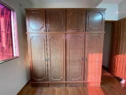 Título do anúncio: Guarda-roupas 8 portas em madeira - anos 90