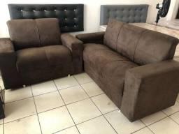 Jogos de sofá no valor de 750 avista ou cartão