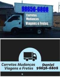 Título do anúncio: Carretos fretes mudança e viagens pra todo Brasil