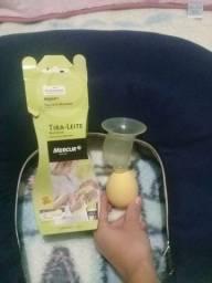 Esgotadeira amarela Tira-leite amamentaçao
