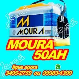 Showw de ofertas nas baterias Moura 60ah