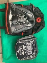Bolsa/mochila e lancheira Star Wars sestine