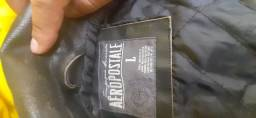 Jaqueta de couro Aeropostale