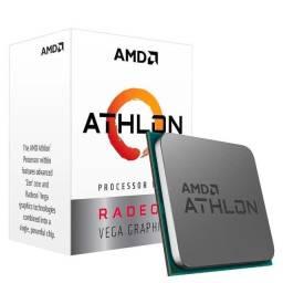 Título do anúncio: Processador Athlon 3000G C/ Placa de video Vega 3