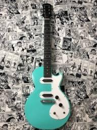 Título do anúncio: Guitarra Epiphone Les Paul SI Turquoise