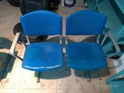 Cadeira de espera longarina