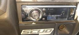 Radio dvd da pioneer com controle remoto