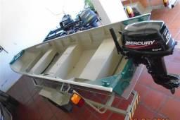 Barco de alumínio Buricá 500 + Reboque - Novo