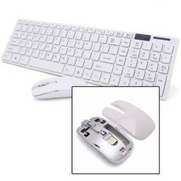 Kit Teclado E Mouse Sem Fio Wifi Usb 1600 dpi (Fazemos Entregas)