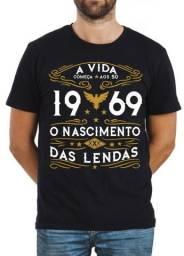 Camiseta A Vida Começa Aos 50 Nascimento Das Lendas 1969 d7e95a4cadc