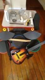 Nitendo Wii + Guitarra + Bateria