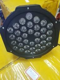 Iluminação com canhões de led