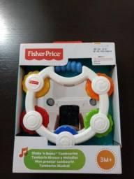 Pandeiro brinquedo Fischer price