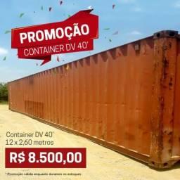 Venda de container de 12 metros