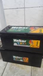Bateria Heliar Caminhão nova 280.00 5 meses de uso