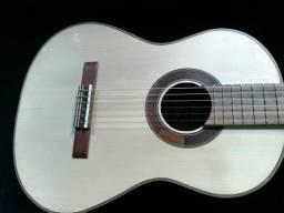 Violão Profissional Luthier Dominus todo madeiras maciças Aceito troca