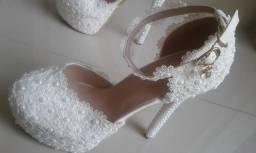 Sapatos Peep Toe