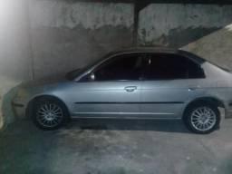 Carro Honda Civic lx 1.7 16 v 115c - 2002