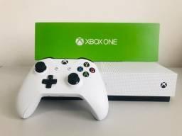 Xbox one S + PES 2020 + 2 controles, parcela cartão