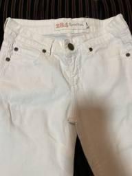 Calça branca tamanho 38
