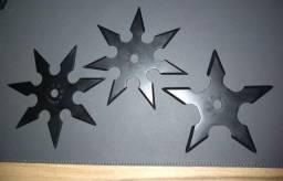 Estrelas ninjas Kohga Ninja de Aço inoxidável preto